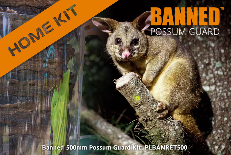Possum Guard - 5 metre Home Kits Now Available
